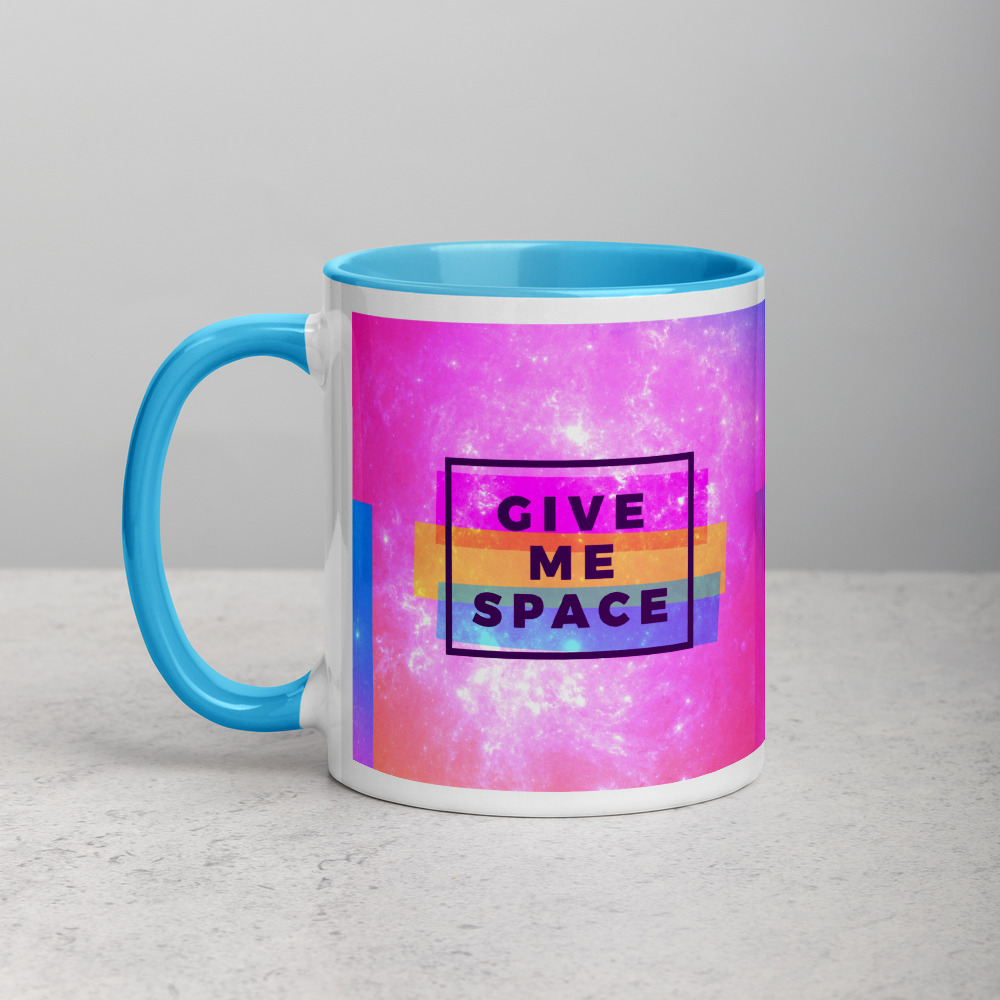 give me space interstellar mug with color inside